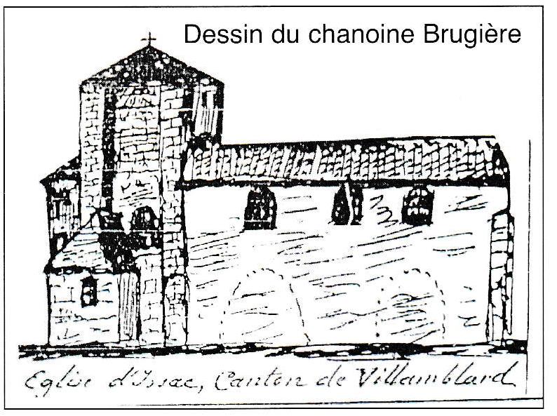 Dessin du chanoine Brugière