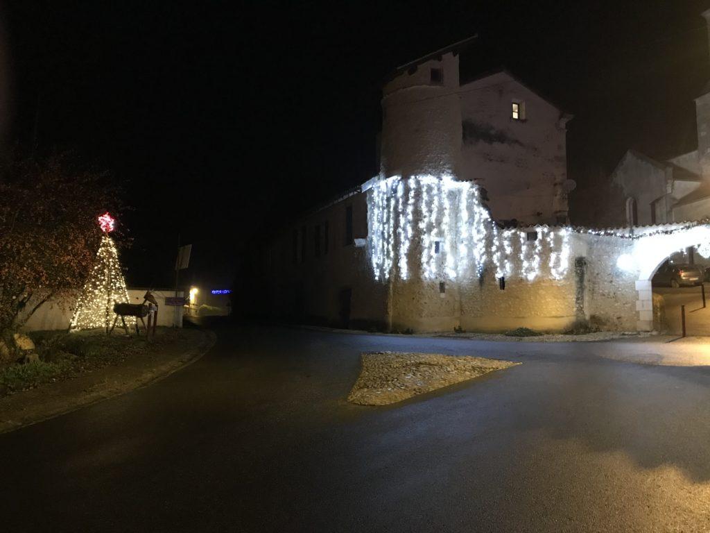 illumination tour et arche